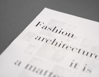 Fashion poster – postmodernism