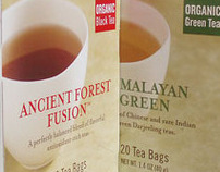 Allegro Fine Tea Packaging