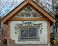 Mural Art - Exterior Mural Art with European Flair