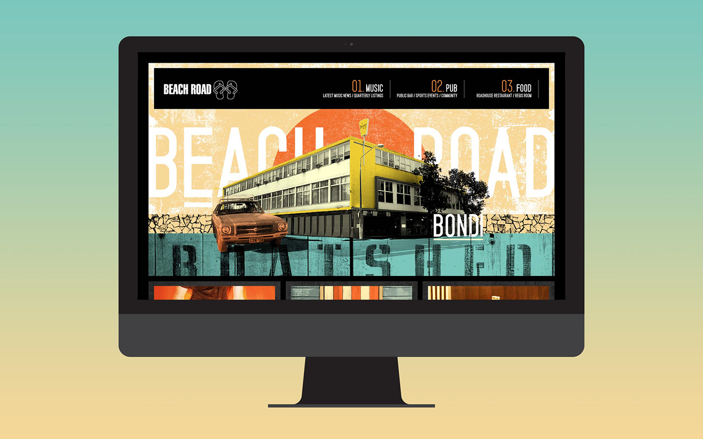 Beach Road Hotel Website