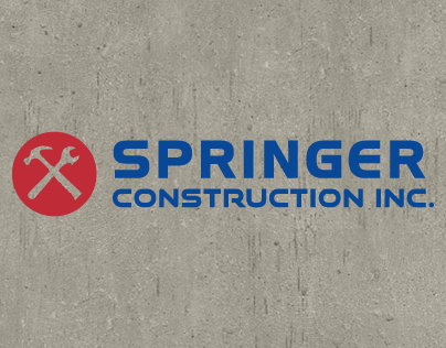 Springer Construction Inc. Brand Implementation