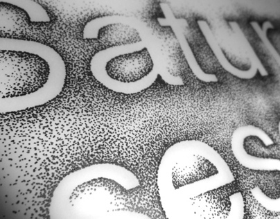 Ministry Of Sound - Saturday Sessions Typography