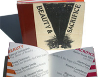 Beauty & Sacrifice / handmade poetry book