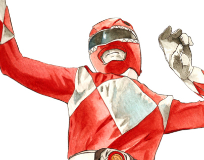 Power Rangers Sketch Cards