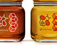 Honey Packaging Identity