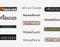 Wicked-wich Logo Process