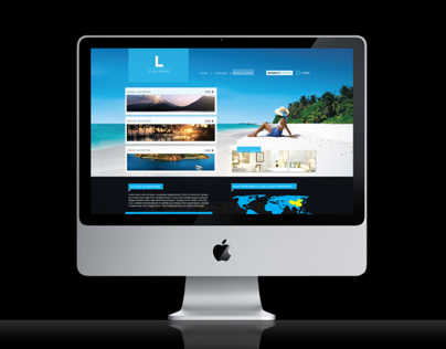Luxury Holiday Website