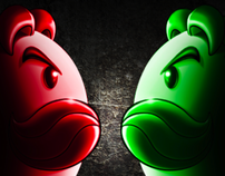 Pringles | Red vs Green Campaign