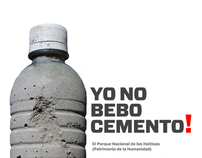 YO NO BEBO CEMENTO!