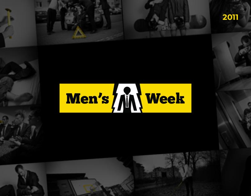 Mens Week - identity + campaign