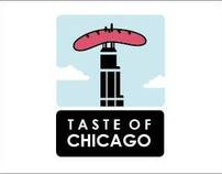 Taste of Chicago 2012 Identity