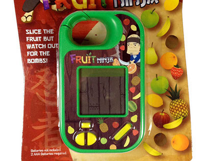 Fruit Ninja Handheld LCD Game