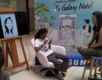 SAMSUNG GALAXY NOTE - Caricaturas