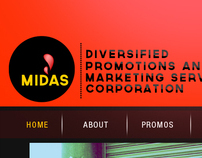 Midas Website Design Studies