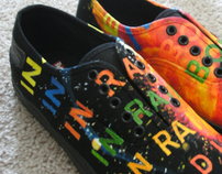 Customized Painted Shoes