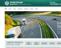 Toscogas - Website