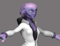 Female Alien Racer