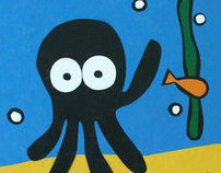 The little black squid