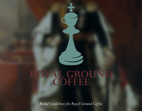 Royal Ground Coffee Branding