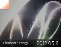 Element Strings - Logo Wallpaper