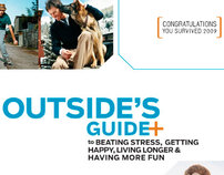 Outside Magazine Sell Sheet Cover