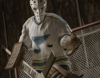 Ice Hockey Goalie: Mike Liut CGI Tribute