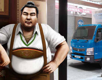 FUSO the new Japanese player on the mercedes-benz team