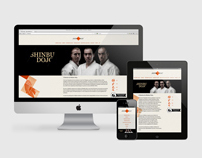 Shinbu Dojo / Responsive website