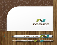 Brand Identity for a construction company Natura, ES