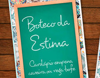 Estima • Bar`s menu