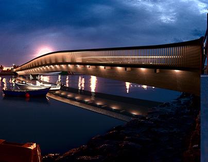 Puente sobre el Río Guadalete
