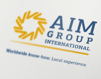 AIM Group International Corporate Identity