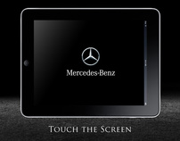 Mercedes customisation touchscreen - Pitch