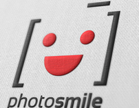 PhotoSmile Logo Template