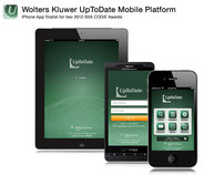 UpToDate Mobile Platform (iPhone, iPad and Android)