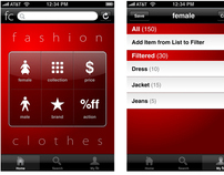 Fashion Clothes (iphone UI)