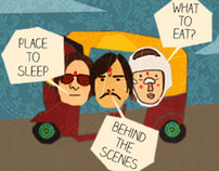 ipad app inspired by the movie The darjeeling limited