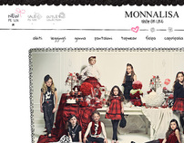 Monnalisa - Restyling website