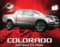CHEVROLET COLORADO ADS