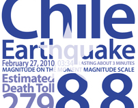Chile Earthquake Poster for www.designforchile.com