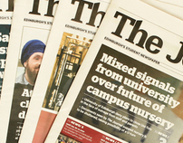 The Journal: Newspaper Redesign