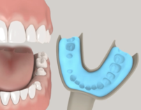 Dental animation & rendering style