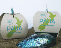 Pāua Shell Packaging