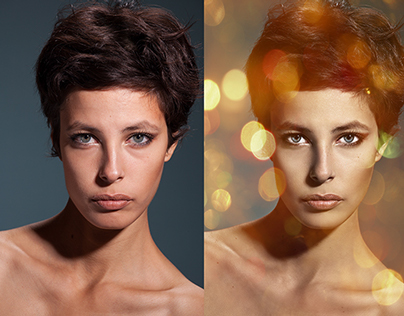 Retouching – Before and After