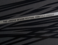 Invites for the London Design Festival 2008