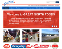 Great North Web Layout