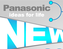 PANASONIC PRODUCTS  WEB BANNER