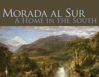 Book Cover Design: Morada al sur