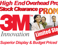 3M HIGH END OVERHEAD PROJECTOR PROMOTION FLYER