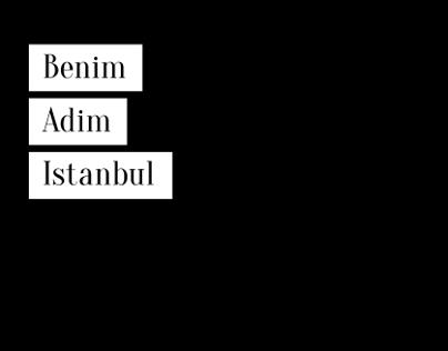 Benim Adim Istanbul (Book Cover redesign)